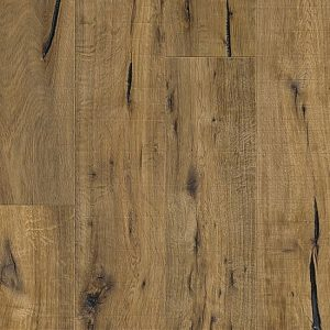 Eiken houten vloer donker rustiek