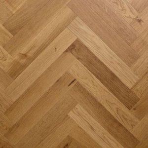 Sfeer foto van een parket vloer